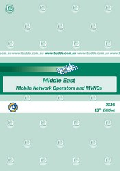Middle East - Mobile Network Operators and MVNOS